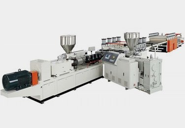 WPC PVC crust foam board machine line