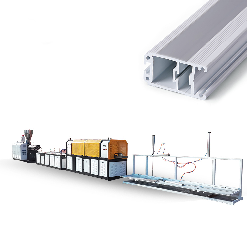 PVC Windows And Doors Profile Extrusion Line