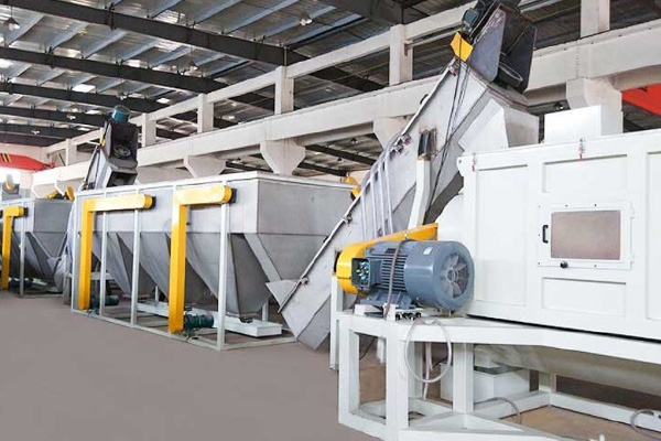 What Kind of Equipment is Needed in the Waste Plastic Recycling Line?