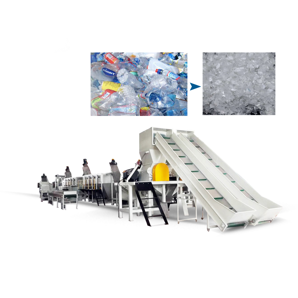 PET Bottle Washing Recycling Line - Buy plastic recycling machines