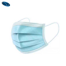 Three layers non-woven disposable face mask